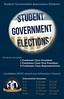 SGA Freshmen Election Poster by KristenRiello