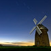Moonlit Windmill by Stucknuts