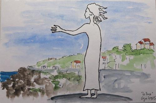 """La madre del emigrante""Gijón (Spain)"