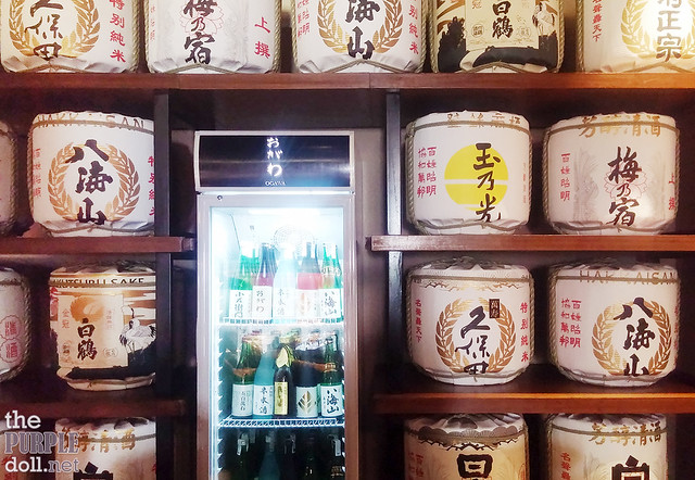 Japanese sake at Ogawa