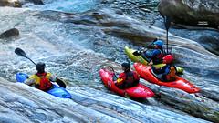 Wildwater Kayaking - Verzasca - Ticino - Switzerland