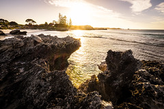 Golden hour on Rottnest Island I