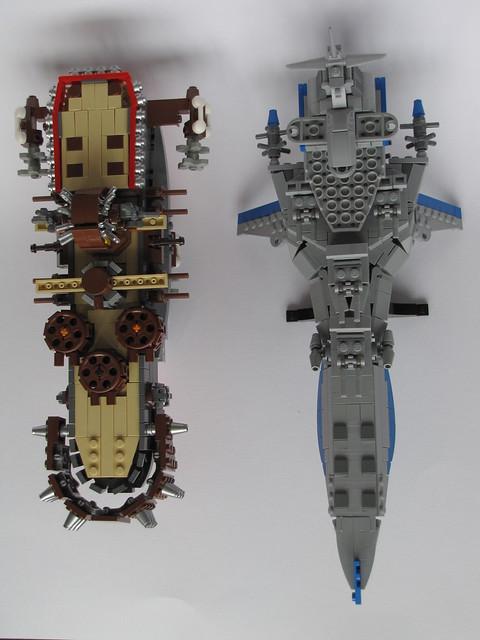 The Auriga and the Delphinus