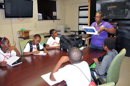 Ricardo Richards Elementary School Visit