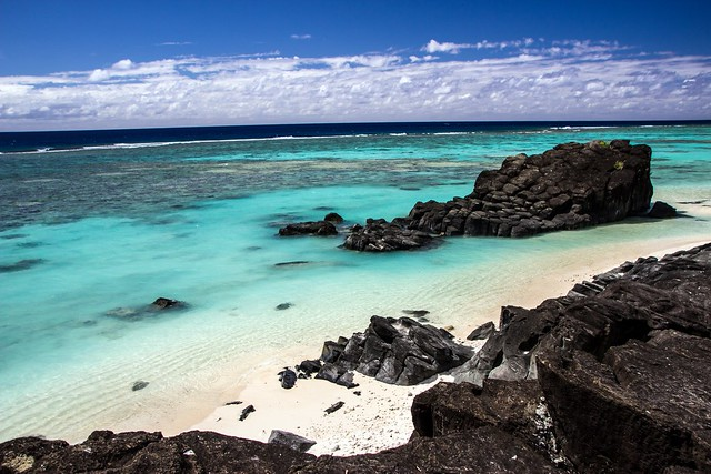 Cook Islands - Rarotonga - Black Rock