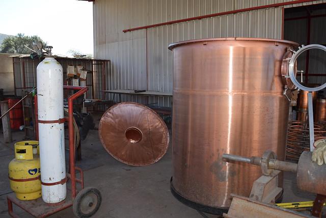 Fabricación de Alambiques