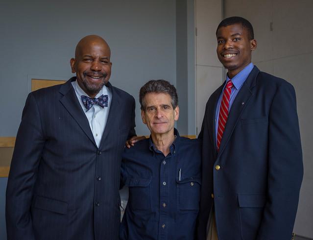 Dean Kamen visits UConn