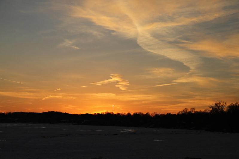 PD Callahans sunset