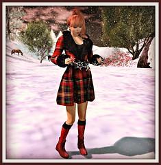 Free coat - Ingenue twinke toes socks - Elikatira group gift hair