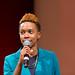 Hostess Cherita Brent at TEDxJxn 2015 by TEDxJackson