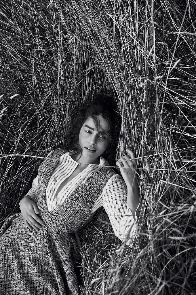 Эмилия Кларк — Фотосессия для «Dior» 2015 – 1