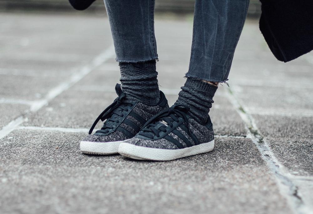 adidas gazelle 70's black myblueberrynightsblog streetstyle