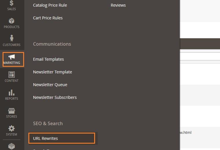Rewrite URL in Magento 2