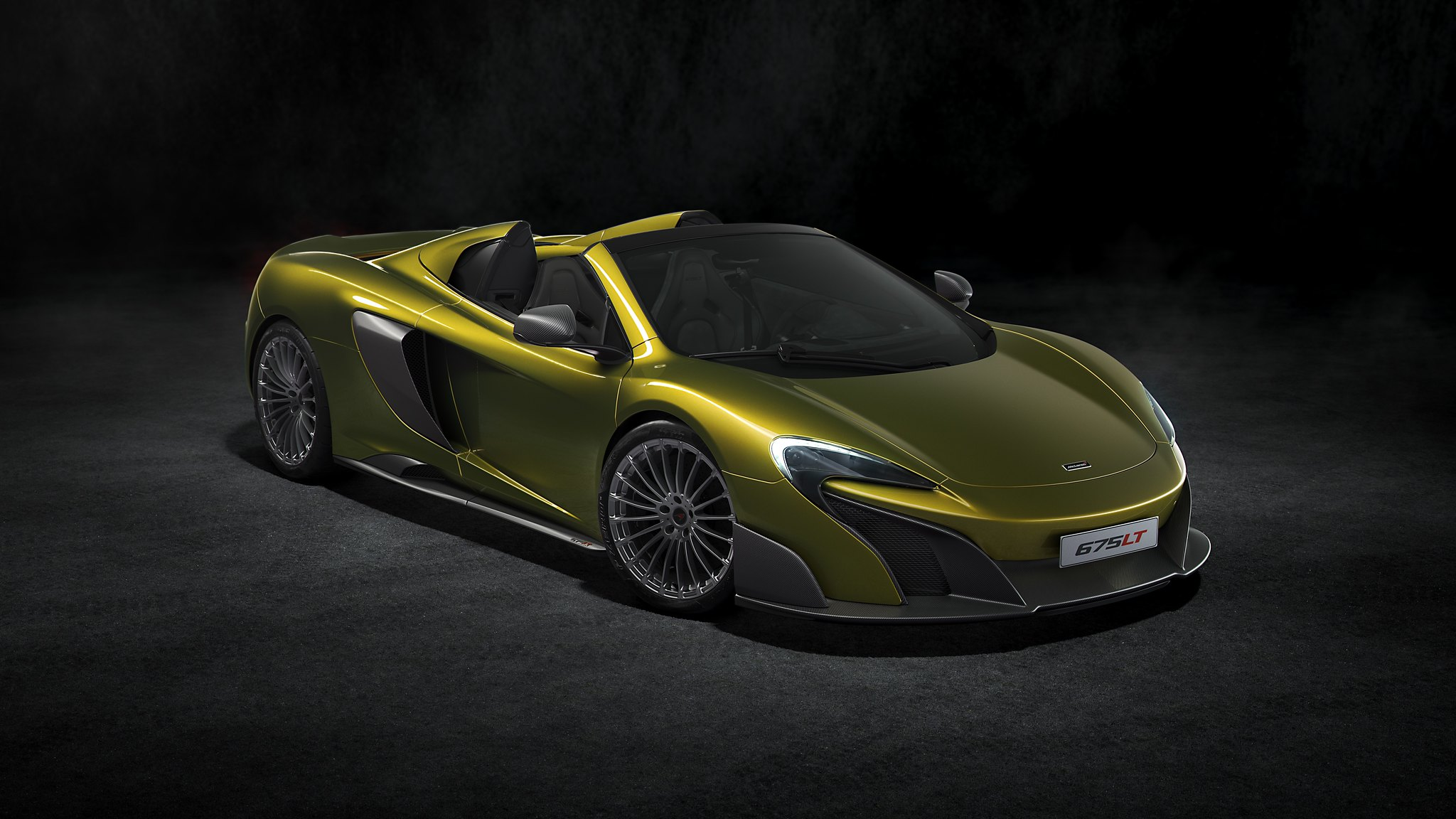 McLaren 675LT Spider opens the most engaging and exhilarating model up to the elements