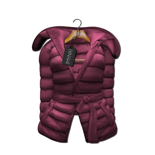 {MYNX} Puffy Tie Jacket - Pink Ad
