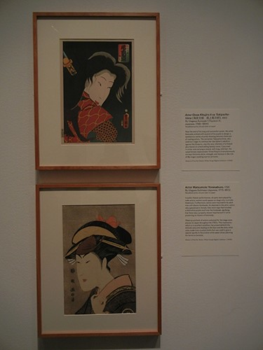 DSCN0942 _ Actor Onoe Kikujiro Il as Takiyasha-hime, Utagawa Kunisada, Actor Matsumoto Yonesaburo, Utagawa Kunimasa, Looking East, Asian Art Museum