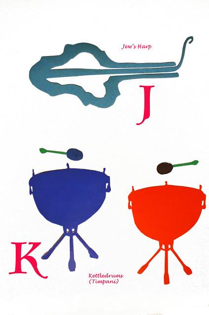 Book Of Musical Instruments, J, K, ca 1980 6-8 full