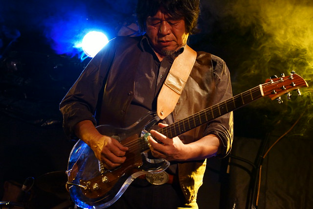 CABU live at Outbreak, Tokyo, 19 Dec 2015. 049