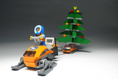LEGO  For tree in forest  За  ялинкою  до  лісу