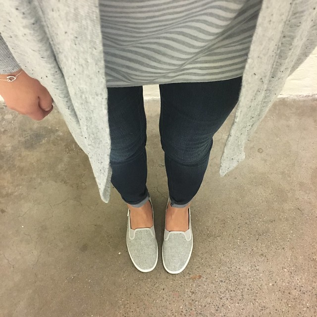 Keds Crashback Wool Grey Slip Ons