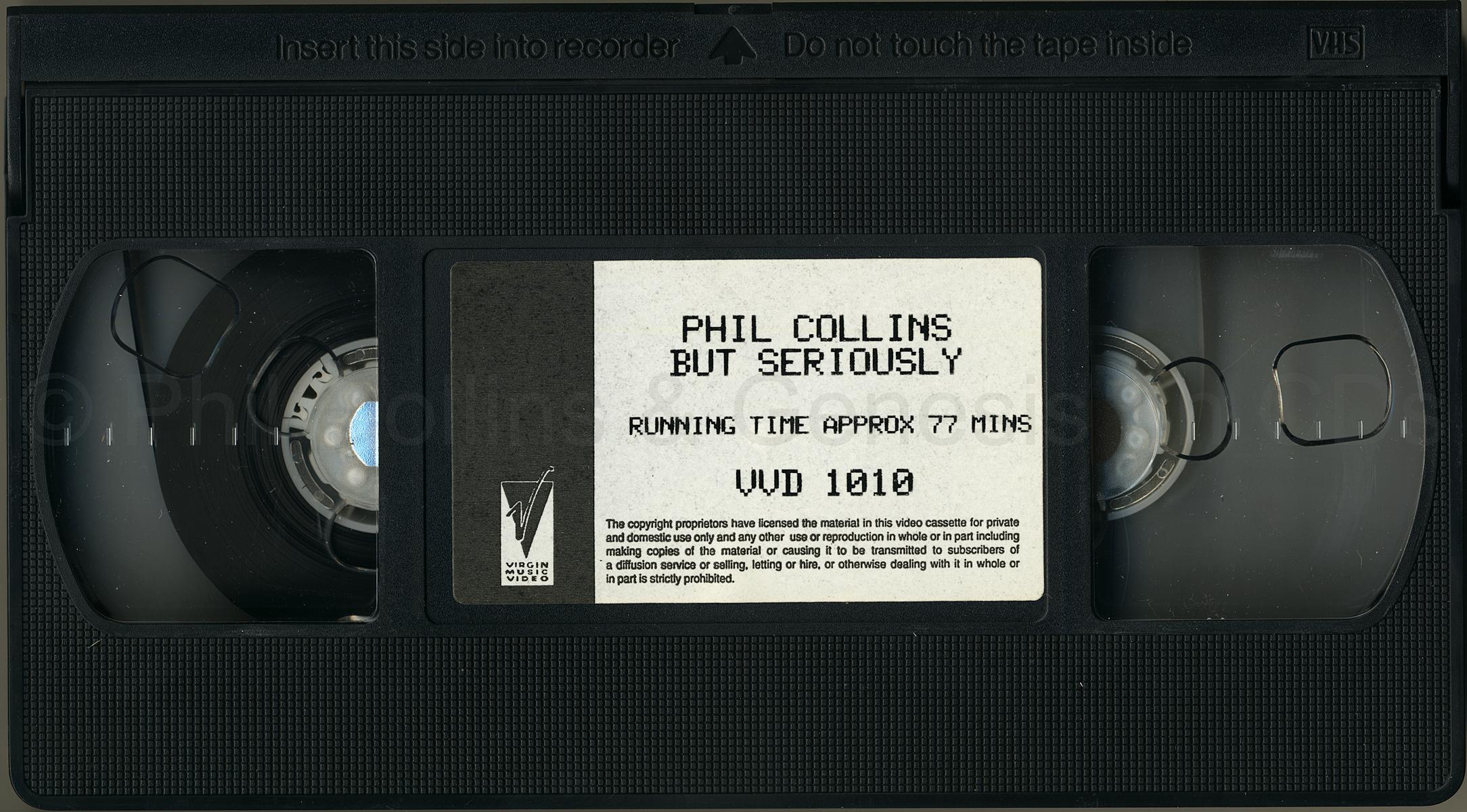 The Videos, cassette tape