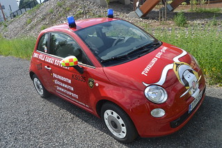 Car of fire department