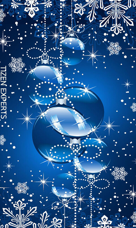 Wallpapers christmas backgrounds for galaxy gear gear 2 - Galaxy christmas wallpaper ...