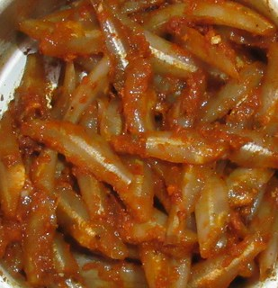 Netholi fry Step - 2