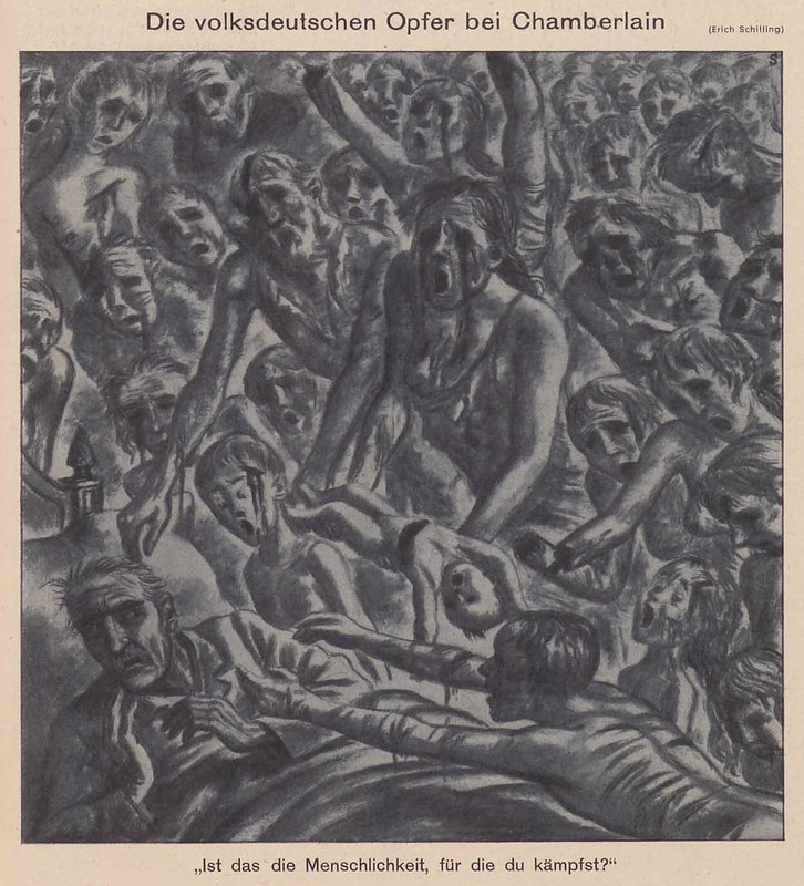 Erich Schilling - The Ethnic German Victims At Chamberlain, 1939