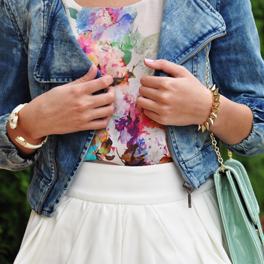 Pretty peplum