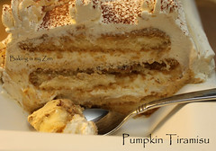 Pumpkin Tiramisu  [no-bake]