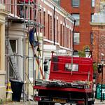 Scaffolders in Bairstow Street