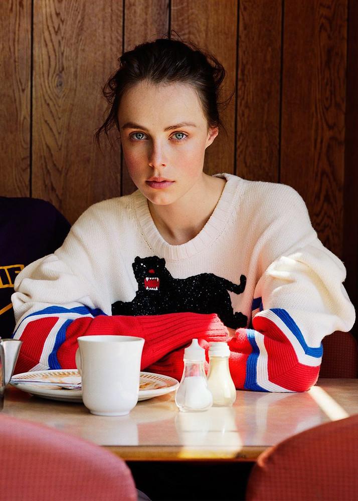 Эди Кэмпбелл — Фотосессия для «Vogue» UK 2016 – 6
