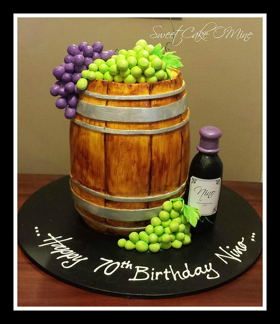 Barrel Cake by Sweet Cake O'Mine