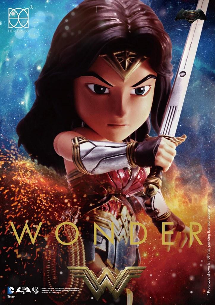 HEROCROSS【神力女超人】蝙蝠俠對超人:正義曙光 Wonder Woman HMF#035