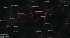 September 2016 My Tracks (Massachusetts)