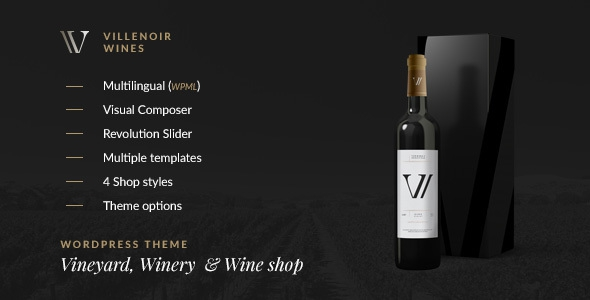 Villenoir v2.1 - Vineyard, Winery & Wine Shop