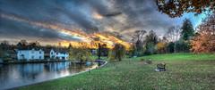 87/365v3 Autumn Sunset over Doctors Pond