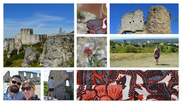 collage Chateau Gaillard