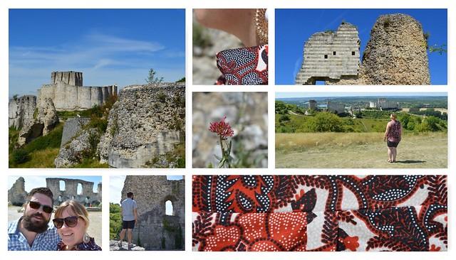 collage Chateau Gaillard