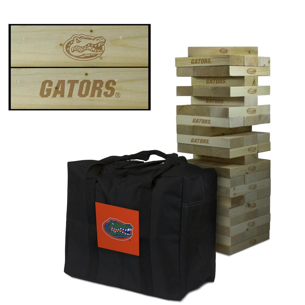 Florida Gators tumble tower game