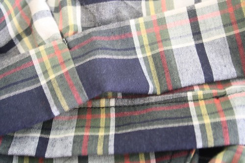 SEW - Madras checks shorts Detail2