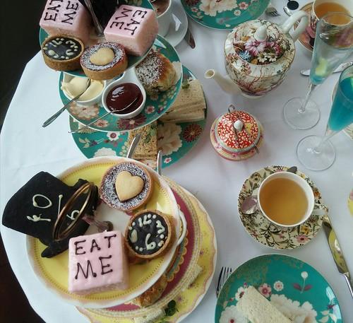 Alice in Wonderland afternoon tea London
