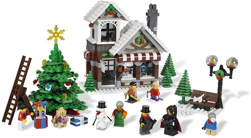 LEGO Creator Winter Village Toy Shop (10199) - 2009 Version