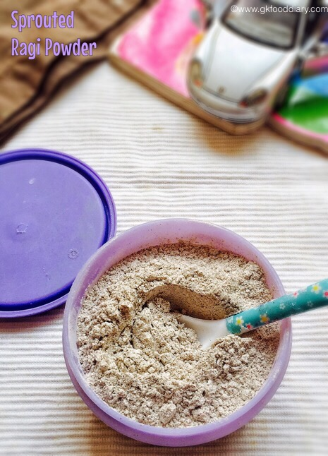 Sprouted Ragi powder for Babies 4