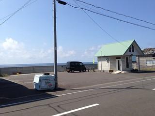 rishiri-island-marui-syokudo-parking