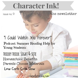 Character Ink Newsletter issue no. 9
