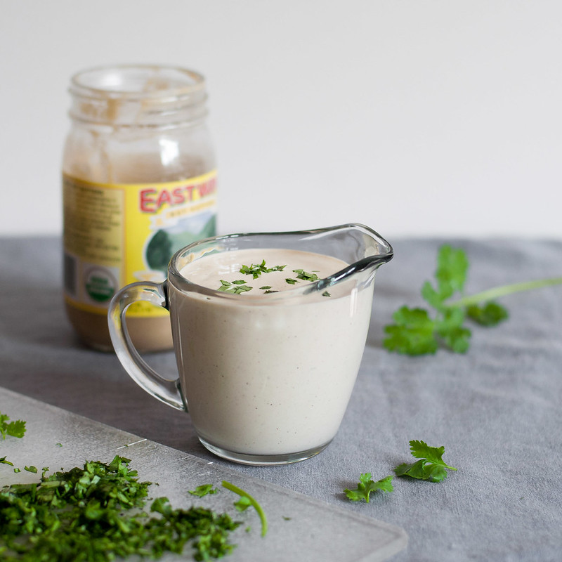 Nut free vegan sour cream without tofu!