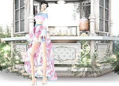 VoguE - Jenia Offshoulder Dress