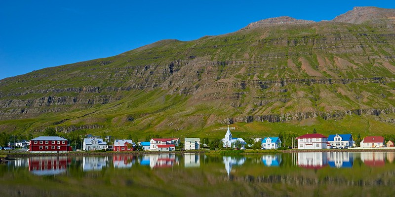 Colored Houses - Seyðisfjörður